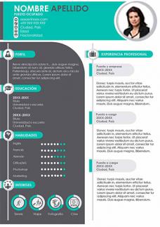 Modelo de CV PowerPoint