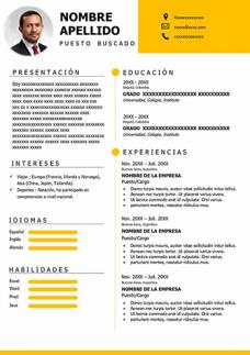 Curriculum Moderno en Español